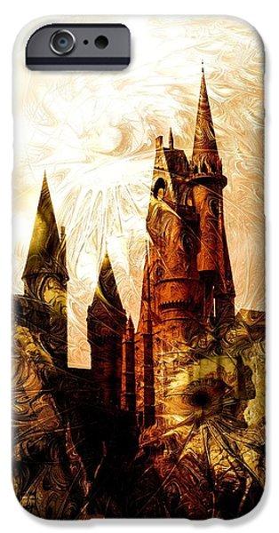 Charming iPhone Cases - School of Magic iPhone Case by Anastasiya Malakhova