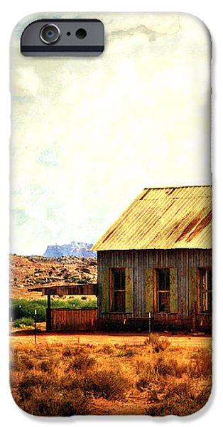 Schoolhouse 1 iPhone Case by Marty Koch