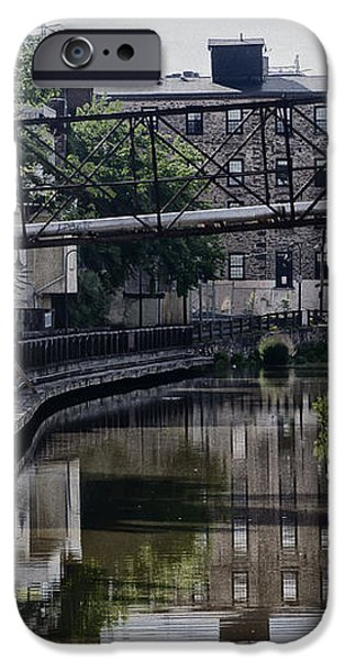 Schuylkill Canal in Manayunk iPhone Case by Bill Cannon