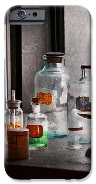 Science - Chemist - Chemistry Equipment  iPhone Case by Mike Savad