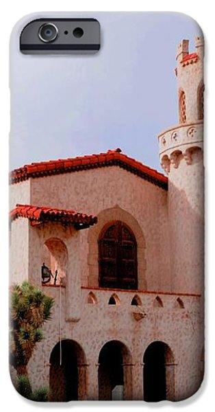 Scotty's Castle iPhone Case by Kathleen Struckle