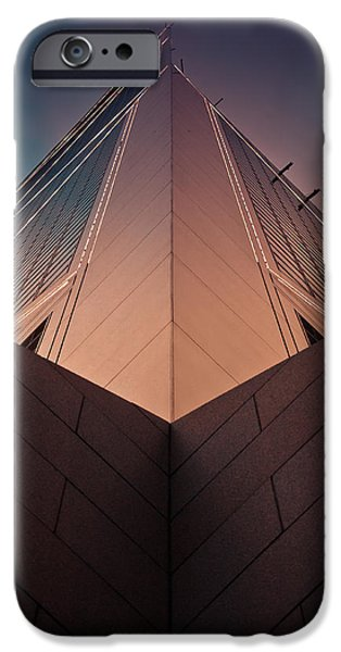 Symetry iPhone Cases - Scraping The Sky #02 iPhone Case by Loriental Photography