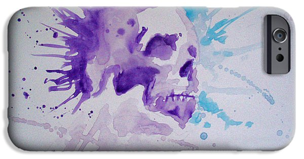 Cardboard Mixed Media iPhone Cases - Scream iPhone Case by Ong Chii Huey
