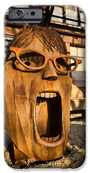 Screamer  iPhone Case by Sven Brogren