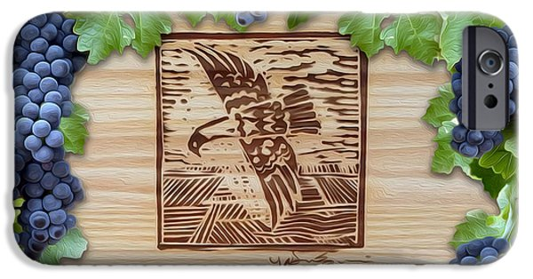 Wine Bottles iPhone Cases - Screaming Eagle iPhone Case by Jon Neidert