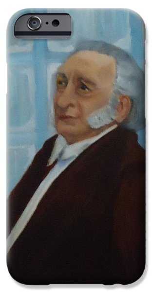 Scrooge iPhone Cases - Scrooge Undone iPhone Case by Betty Pimm
