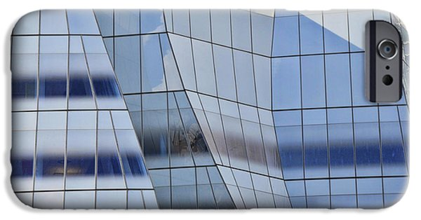 Shape iPhone Cases - Sculpture or Building or Both iPhone Case by Allen Beatty