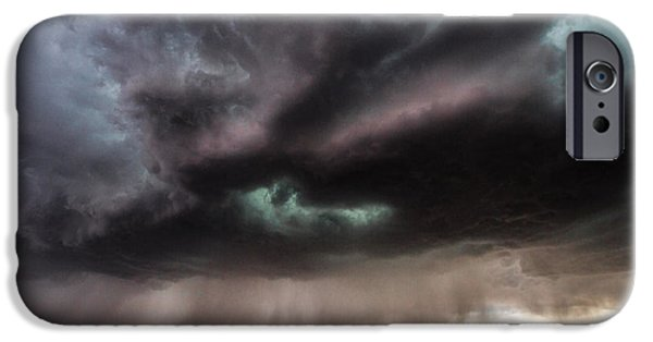 Rainy Day iPhone Cases - Sculpture iPhone Case by Sean Ramsey