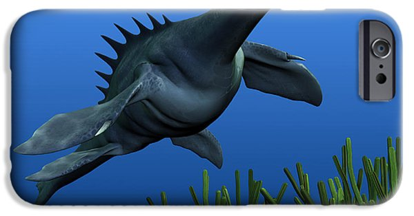 Wonderous iPhone Cases - Sea Dragon on Reef iPhone Case by Corey Ford