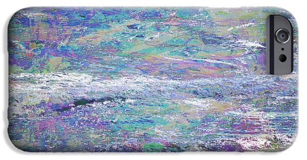 Interior Scene Mixed Media iPhone Cases - Sea Expressions iPhone Case by John Fish