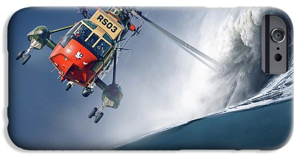 Iraq iPhone Cases - Sea King iPhone Case by Peter Van Stigt