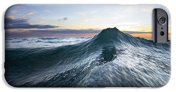 Ocean iPhone Cases - Sea Mountain iPhone Case by Sean Davey