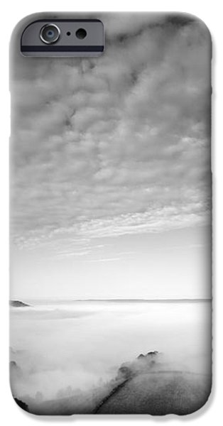 Sea of Fog iPhone Case by Anne Gilbert