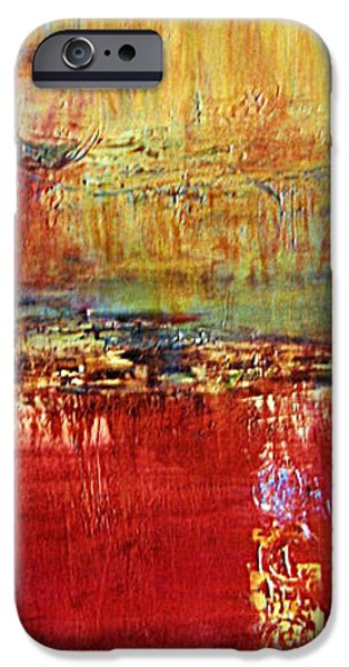 Abstract Seascape iPhone Cases - Sea Reflections iPhone Case by Diana Bursztein