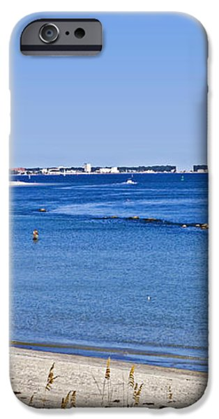 Sea Side Area iPhone Case by Susan Leggett