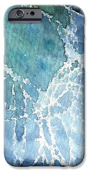 Sea Spray iPhone Case by Linda Woods