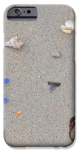 Sea Swag - Dark Blue iPhone Case by Al Powell Photography USA