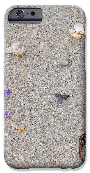 Sea Swag - Purple iPhone Case by Al Powell Photography USA