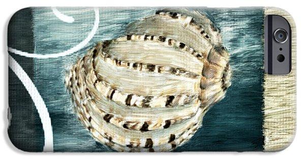 Beach Digital Art iPhone Cases - Sea Treasure iPhone Case by Lourry Legarde