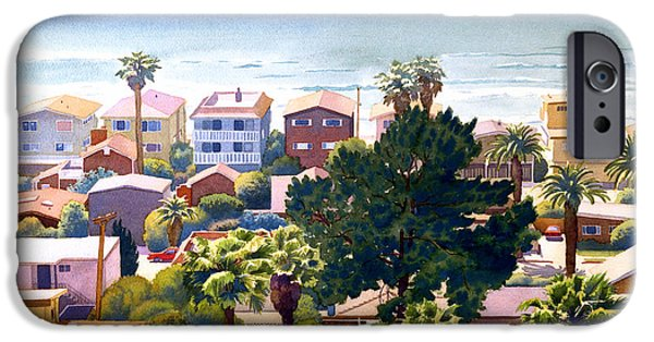 Fletcher iPhone Cases - Sea View Del Mar iPhone Case by Mary Helmreich