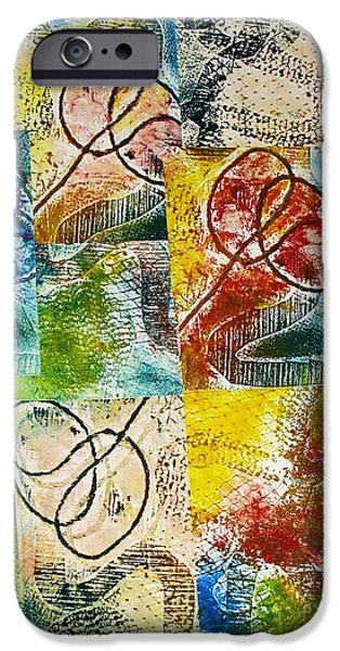 Abstract Reliefs iPhone Cases - Seal the Deal iPhone Case by Yael VanGruber