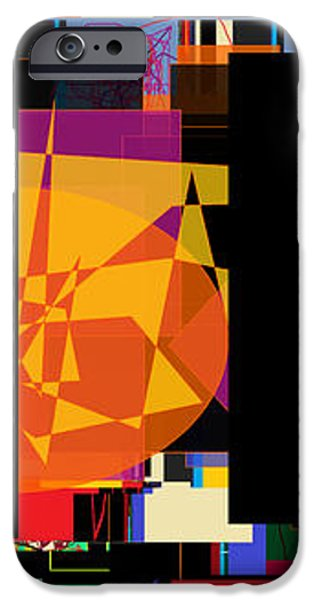 search for the straying son 7 iPhone Case by David Baruch Wolk