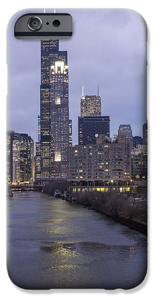 Willis Tower iPhone Cases - Sears Tower or Willis Tower iPhone Case by John McGraw