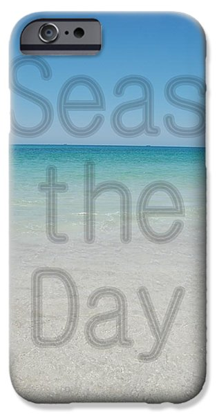 Panama City Beach iPhone Cases - Seas the Day iPhone Case by May Photography