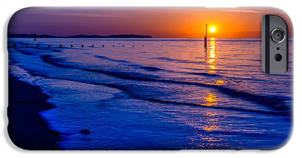 Submerged iPhone Cases - Seascape iPhone Case by Adrian Evans