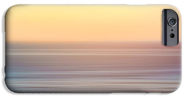 Wavy iPhone Cases - Seascape iPhone Case by Wim Lanclus