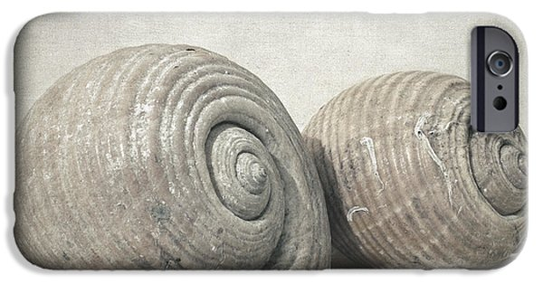 Poetic iPhone Cases - Seashell nO.3 iPhone Case by Taylan Soyturk
