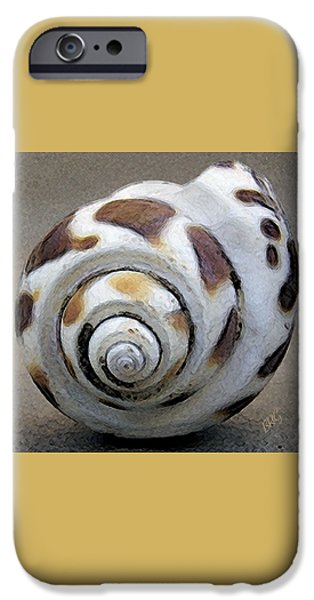 Beige iPhone Cases - Seashells Spectacular No 2 iPhone Case by Ben and Raisa Gertsberg