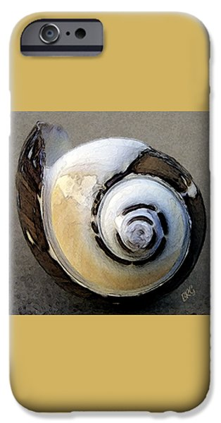 Grey Photographs iPhone Cases - Seashells Spectacular No 3 iPhone Case by Ben and Raisa Gertsberg