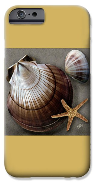 Brg iPhone Cases - Seashells Spectacular No 38 iPhone Case by Ben and Raisa Gertsberg