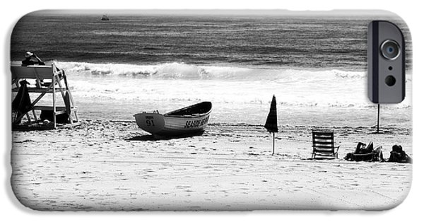 Seaside Heights iPhone Cases - Seaside Beach Days iPhone Case by John Rizzuto