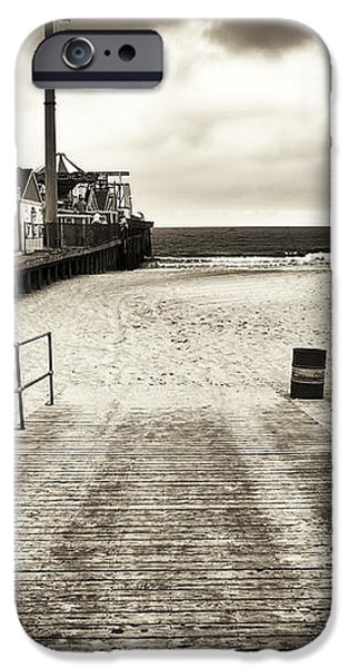 Seaside Beach Entry iPhone Case by John Rizzuto
