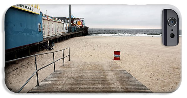 Seaside Heights iPhone Cases - Seaside Heights Beach iPhone Case by John Rizzuto