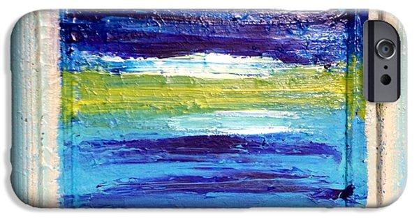 Anna Villarreal Garbis iPhone Cases - Seaside II iPhone Case by Anna Villarreal Garbis