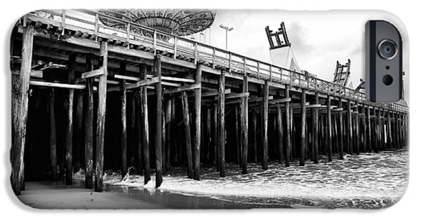 Seaside Heights iPhone Cases - Seaside Pier iPhone Case by John Rizzuto