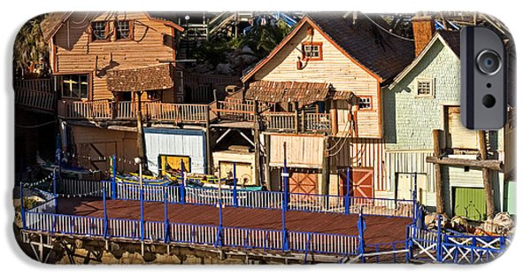 Clapboard House iPhone Cases - Seaside Village In Malta iPhone Case by Tim Holt