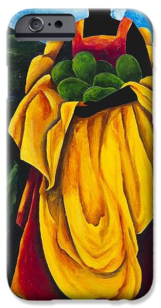Figures iPhone Cases - Season Avocado iPhone Case by Patricia Brintle