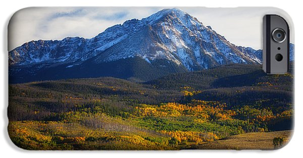 Autumn Scenes Photographs iPhone Cases - Seasons Change iPhone Case by Darren  White