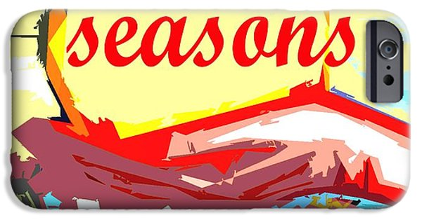 Miracle iPhone Cases - Seasons Greetings 35 iPhone Case by Patrick J Murphy