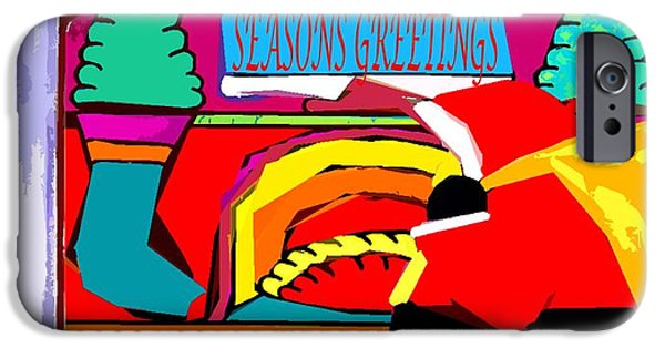 Miracle iPhone Cases - Seasons Greetings 44 iPhone Case by Patrick J Murphy