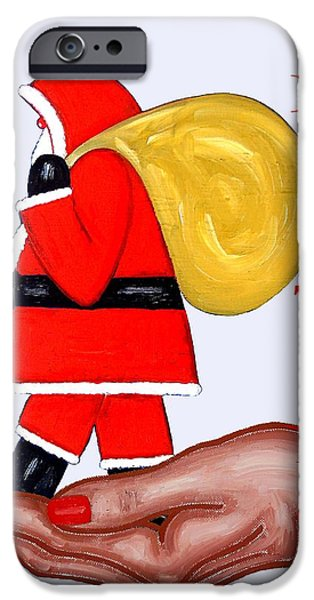 Miracle iPhone Cases - Seasons Greetings 50 iPhone Case by Patrick J Murphy