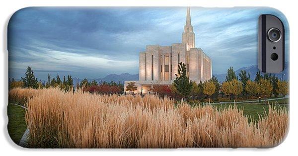 Saint Hope iPhone Cases - Seasons of Faith iPhone Case by Dustin  LeFevre