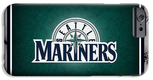 Mariners iPhone Cases - Seattle Mariners iPhone Case by Joe Hamilton
