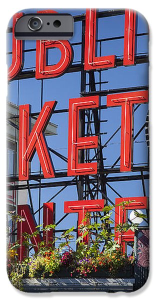 Seattle Market  iPhone Case by Brian Jannsen