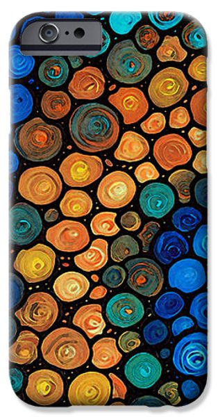Miracle iPhone Cases - Second Chances - Abstract Art By Sharon Cummings iPhone Case by Sharon Cummings