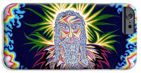 Turin Digital Art iPhone Cases - Second Coming of Christ iPhone Case by Robert  SORENSEN